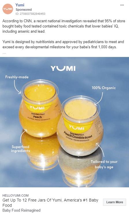 Static Ad by Yumi